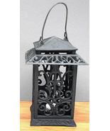 Cast Iron Square Lantern Candle Holder - $34.64