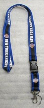 NBA New York Knicks Disconnect Disconnecting LANYARD KEY CHAIN Ring Keyc... - $14.99