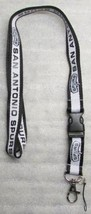 NBA San Antonio Spurs Disconnect Disconnecting LANYARD KEY CHAIN Ring NEW - $14.99