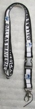 NBA Dallas Mavericks Disconnect Disconnecting LANYARD KEY CHAIN Ring ID NEW - $14.99