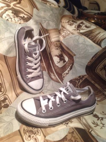 7ab0f530f4f51e  35 Converse All Star Low Top Canvas SILVER and 50 similar items