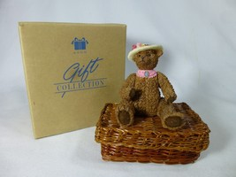 "Avon MYOB Mind Your Own Bear ""SUGAR"" Bear Sewing Box in original box 1999 - $9.89"