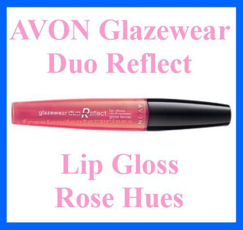 Primary image for Make Up AVON Glazewear Duo Reflect Lip Gloss ~ Rose Hues ~