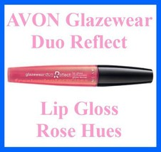 Make Up AVON Glazewear Duo Reflect Lip Gloss ~ Rose Hues ~ - $9.85