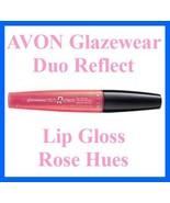 Make Up AVON Glazewear Duo Reflect Lip Gloss ~ Rose Hues ~ - $9.85