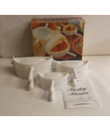 Pastry Dough Press Turnover Maker Molds - Set of 3  - $10.99