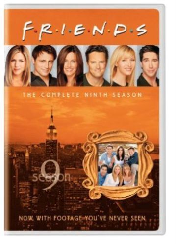 Friends - The Complete Ninth Season 9 (DVD 2005 4-Disc Set) New TV Comedy Series