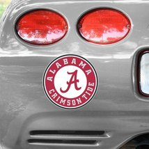 "Alabama Crimson Tide Logo Decal - 9"" x 9"" - $7.91"