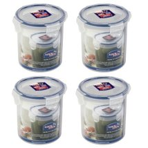 Lock & Lock, Water Tight, Food Container, 2.9-cup, 24-oz, Pack of 4, HPL932D - $24.76