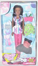 African American Casual Chic Glamour Girl Fashion Doll Set - $12.86