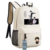 Noragami Aragoto Cute Yato God Iki Hiyori Couple School Bag Backpack - $49.99