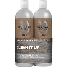 Tigi B For Men Clean Up Tween Duo Pack 2x750ml - $39.00