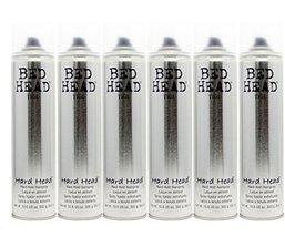 Tigi Bedhead Hard Head Hairspray (6 Pack) by TIGI - $119.68