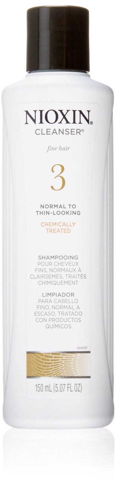 Nioxin System 3 Cleanser for Fine Hair 150ml 5.07 oz