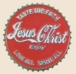 12 Pins - TASTE THE FAITH JESUS CHRIST , pin sp131