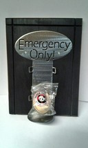 Emergency Only Display Sign Wood Metal Home Gag... - $15.00