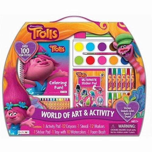 DreamWorks Trolls World of Art & Activity Kit for sale  USA