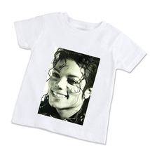 Michael Jackson Unisex Children T-Shirt (Available in XS/S/M/L)   - $14.99
