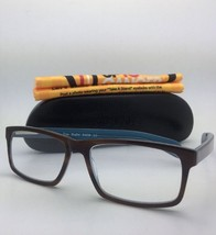 Readers EYE•BOBS Eyeglasses I'M RIGHT 2409 10 +3.50  Brown Tortoise & Blue Frame