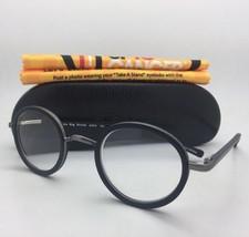 Readers EYE•BOBS Eyeglasses BIG BRIEFS 2255 00 +2.25 45-25 Matte Black-Gunmetal