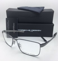 New PORSCHE DESIGN Titanium Eyeglasses P'8273 D 58-15 145 Black Chrome Frames
