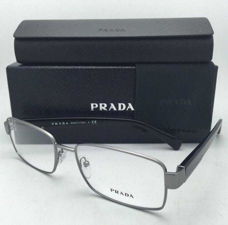 4e7b63d8ae14 New PRADA Eyeglasses VPR 53R 7CQ-1O1 54-17 and 50 similar items