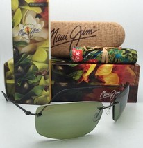 Rimless MAUI JIM Sunglasses FRIGATE HT 716-02D Drk Gunmetal w/ Polarized... - $329.95