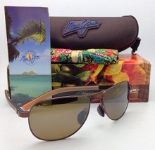 Maui Jim Guardrails Sunglasses Mj 327-23 Copper Frames w/Bronze Polarized Lenses - $329.95