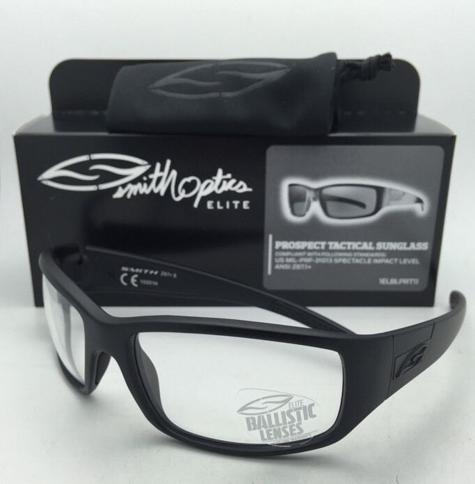 f07736316ffe8 S l1600. S l1600. Previous. SMITH OPTICS BALLISTIC PROSPECT TACTICAL  Eyeglasses Black w  Clear ...