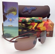Maui Jim Sunglasses Breakwall Mj H 422-26 Rootbeer w/ Hcl Polarized Brown Lenses - $169.00