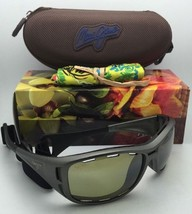 Polarized Maui Jim Sunglasses Ht 410-11B Waterman Titanium Frame w/ Maui Ht Lens - $249.95