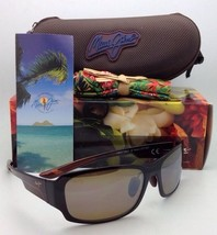 Polarized Maui Jim Sunglasses MJ H 415-26B BAMBOO FOREST Rootbeer w/ Bro... - $219.95