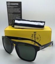 Authentic VONZIPPER Sunglasses VZ BANNER Shiny Black frame w/Vintage Grey lenses