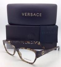 New VERSACE Eyeglasses VE 3172 5078 54-16 Green Havana Frame w/ Clear Demo Lens