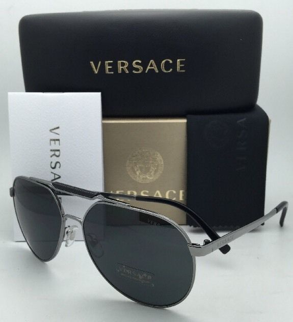 28f8f84d17 New VERSACE Sunglasses VE 2155 1001 87 59-15 and 23 similar items