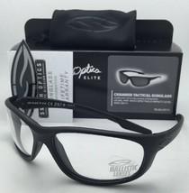 New SMITH OPTICS BALLISTIC CHAMBER TACTICAL Eyeglasses Black w/Clear ANSI Z87.1+