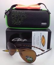 New Polarized SMITH OPTICS Sunglasses AUDIBLE Brown w/ CHROMAPOP Brown lenses