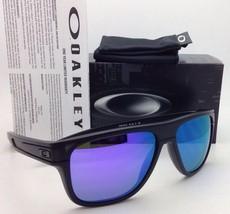 New OAKLEY Sunglasses BREADBOX OO9199-02 Matte Black Ink w/Violet Iridium lenses