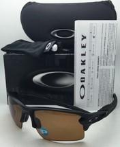 Polarized OAKLEY Sunglasses FLAK 2.0 XL OO9188-07 Matte Black Frames w/ Bronze