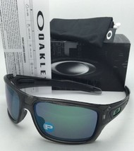 Polarized OAKLEY Sunglasses TURBINE OO9263-09 Grey Smoke w/ Jade Iridium lenses