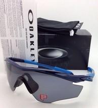 New OAKLEY M2-FRAME POLARIZED Sunglasses OO9212-07 Navy-Blue Frames Grey Lenses