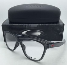 New OAKLEY Eyeglasses GROUNDED OX 8070-0353 53-17 Grey Smoke Frames w/Clear Demo