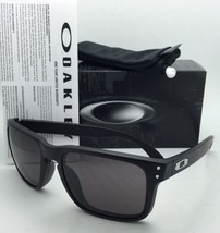 Rare Authentic Oakley Sunglasses HOLBROOK OO9102-01 Matte Black  w/ Grey Lenses