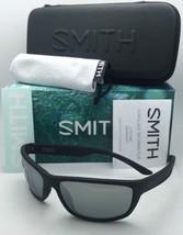 Polarized SMITH OPTICS Sunglasses RIDGEWELL Black Frame w/ CHROMAPOP Grey+Mirror