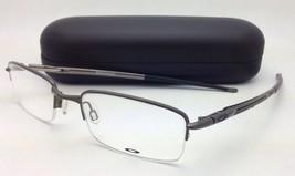 New OAKLEY Eyeglasses Rhinochaser OX 3111-0152 Semi-Rimless Cement/Grey Frames