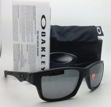 New Oakley Sunglasses JUPITER SQUARED OO9135-09 Black w/ Black Iridium POLARIZED