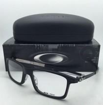 New OAKLEY Eyeglasses PITCHMAN OX 8050-0153 53-18 Satin Black Frames w/ Clear