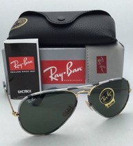 New RAY-BAN Sunglasses Aviator Full Color RB 3025-J-M 171 Grey Camouflage & Gold