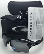 Polarized OAKLEY Sunglasses FLAK 2.0 XL OO9188-08 Black Frames w/ Black Iridium