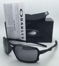 New OAKLEY TRIGGERMAN Sunglasses OO9266-01 Matte Black Frames w/Mirrored Lenses